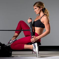 Tone and tighten your entire body with this quick and effective rowing workout. This machine will get you into shape in no time.