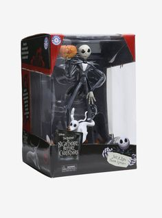 The Nightmare Before Christmas Jack & Zero Finders Keypers Statue,