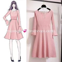 Clothing design drawings dresses fashion illustrations ideas Best Picture For fashion sketches f Korean Fashion Trends, Kpop Fashion, Girl Fashion, Fashion Ideas, Dress Illustration, Fashion Illustration Dresses, Fashion Illustrations, Fashion Drawing Dresses, Fashion Dresses