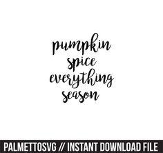 Silhouette Cameo, Silhouette Files, Monogram Fonts, Pumpkin Spice, Cutting Files, Cricut, Monster Mash, Zip, Create