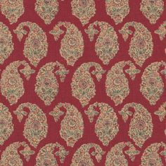 Ralph Lauren BOUDIN PAISLEY MADDER Fabric
