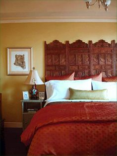 Indian Bedroom Color Ideas Diy Home Decor, Headboard Ideas, Headboard  Designs, Diy Headboards