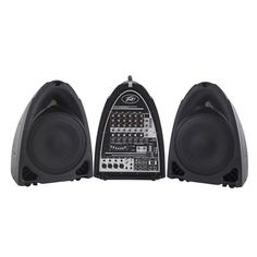 Peavey Portable PA System, 8 Channel, 300 Watts at MCM Electronics Audio Track, Professional Audio, Audio System, Compact, Channel, Digital, Electronics, Consumer Electronics
