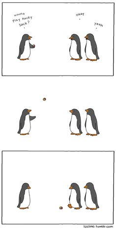 ahahahaa, I love this site, the penguins and dinosaurs kill me!