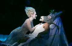 'A Midsummer Night's Dream' - directed by Julie Taymor. Tina Benko as Titania and Max Casella as Nick Bottom