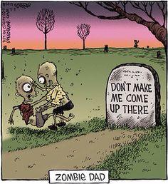 Zombie funny