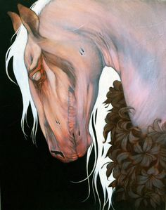 Pale Horse  by Leilani Bustamante