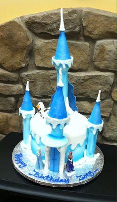Hello Gorgeous! Frozen themed cake