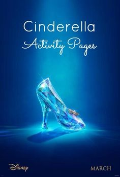 Free Cinderella Activity Pages! http://superduperkidsblog.com/free-cinderella-activity-pages/