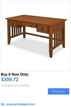 Office Furniture: Computer Desk Home Office Furniture Workstation Table Arts And Crafts Executive BUY IT NOW ONLY: $309.72 #priceabateOfficeFurniture OR #priceabate