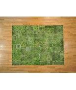 Area Rug, 8'X10' Old Persian Overdyed Patchwork Hand Knotted Rug Sh13599 - Home Decor