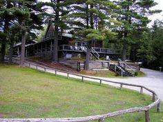 the lodge at Elk Lake, NY