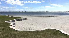 Hvidovre Strandpark, Karin Lorentzen & VEGA landskab (2017). Fotograf: Anne Galmar/VEGA landskab