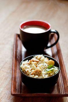 upma - a savory south indian breakfast dish made with semolina.