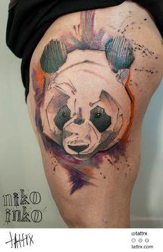 Niko Inko - Panda tumblr: niko-inko