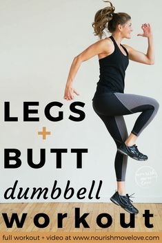 sculpt your glutes and lower body with these 6 booty building exercises for women; a complete lower body workout in 20 minutes!