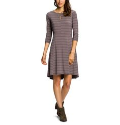 Women's Repose Slitdress Stripe | Nau Clothing