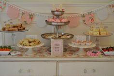 adorable tea party...love the banner