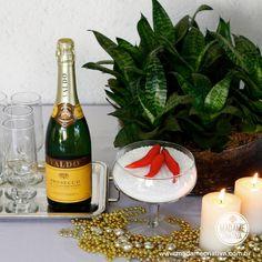 Como montar a mesa e trazer proteção para o ano novo - Setting a table with elements to attract protection for the new year - DIY tutorial - Madame Criativa - www.madamecriativa.com.br