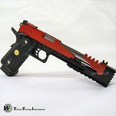 WE Red Dragon 7 Hi-Capa Type B Gas Airsoft Gun