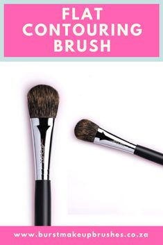 What does the term contouring refer to when it comes to makeup brushes. A contouring brush helps to define and shape the look you want to create. Contouring brushes usually have firmer bristles, allowing them to contour and blend your make up, enhancing your desired look. #BurstMakeupBrushes #BurstMakeup #MakeupBrushes #Makeup #contouringbrushes #contourbrush