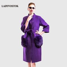 LADYVOSTOK winter Long woman Coat Cashmere Coat stand collar removable pockets  Daily Free clothes plus sizes buttons Y3608-in Wool & Blends from Women's Clothing & Accessories on Aliexpress.com | Alibaba Group