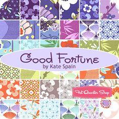 Good Fortune Charm Pack  Kate Spain for Moda Fabrics