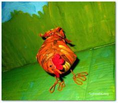 Criando Personagem é cenário para um stop motion   http://ludimidia.blogspot.com.br/2014/03/criando-um-personagem-com-galinhas_29.html#more