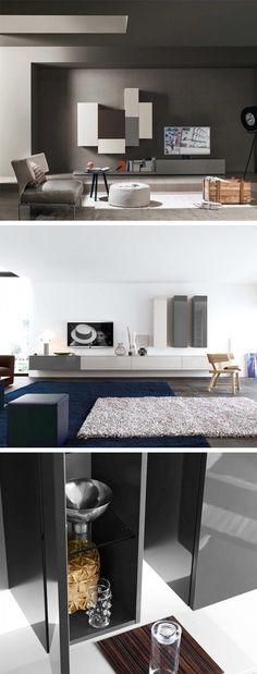 Livitalia Bücherregal mit Glastüren C63 in 2018 Ein Traum in weiß