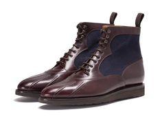 online store 051d1 9516e J.FitzPatrick Mercer - Burgundy Chromexcel   Navy Tukwila Herrskor,  Herrskor, Skor Sneakers