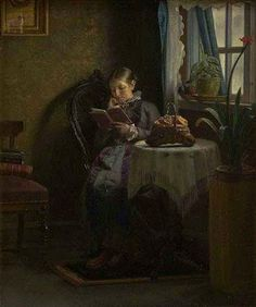 Reading and Art: Ancher_Michael