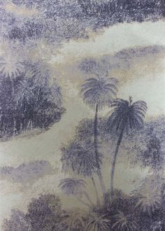 Charcoal Cocos Wallpaper