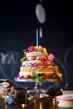 Naked cake Dri Knapp