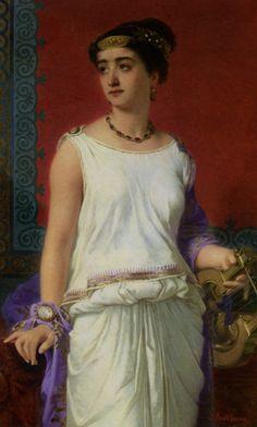Resultado de imagen de Charles Edouard Boutibonne (1816 – 1897, French)