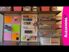 [VIDEO]: How to Organize Your Home: Organizational Expert Alejandra Costello's House Tour Organisation Hacks, Home Office Organization, Organizing Your Home, Craft Organization, Organising, Craft Storage, Organizing Ideas, Storage Ideas, Space Crafts