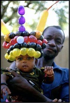 balloon hats Africa