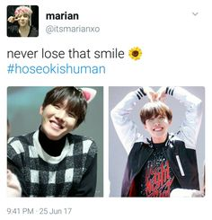 What a precious man... Seriously, he is an absolute gift from God #HoseokIsHuman