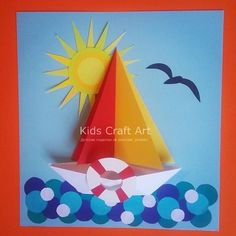 Craft Work For Kids, Art Activities For Kids, Paper Crafts For Kids, Hobbies And Crafts, Preschool Crafts, Diy For Kids, Fun Crafts, Arts And Crafts, Art Drawings For Kids