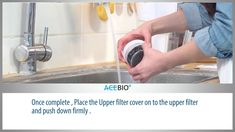 Instructions for setting up AceBio+ jug/pitcher filter Washing Machine, Filter, Home Appliances, Products, House Appliances, Washer, Appliances