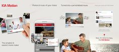 Create and share videos with ease via KIA-Motion App