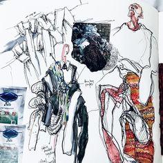 Mode Illustrationen Skizzenbuch – Well come To My Web Site come Here Brom