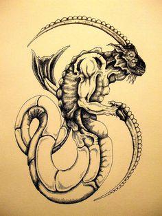 artistic Capricorn image.