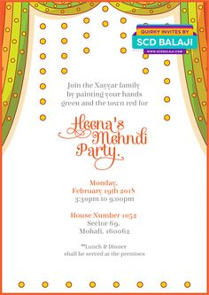 Traditional Halfsaree Invitation Invites Crafts Pinterest