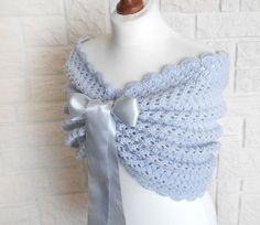 Your place to buy and sell all things handmade Wedding Shawls, Wedding Bolero, Bridal Shawl, Wedding Hair Clips, Wedding Wraps, Bridal Cover Up, Shawls And Wraps, Crochet Lace, Wedding Accessories