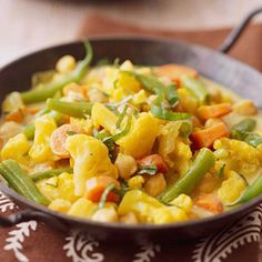 Vegetable and Chickpea Curry - Fitnessmagazine.com