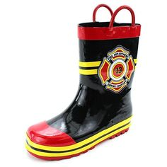 6d26717fc6a9 Fireman Kids Rain Boots -- See this great product.