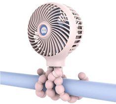 Personal Fan Bladeless Battery Operated Fan Stroller Fan by Cool On The Go