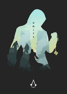 Iphone Minimalist Wallpaper, Iphone Wallpaper Tumblr Aesthetic, Artistic Wallpaper, Assassin's Creed Wallpaper, Dark Wallpaper, Assassins Creed Unity, Dark Fantasy Art, Minimalist Poster, 2d Art