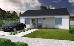 Návrh rodinných domů Echo od APEX ARCH s.r.o.
