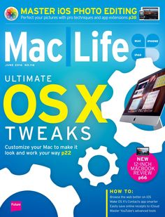 #iPad User Magazine #85. Ultimate OS X Tweaks. Customize your Mac to make it look and work your way!